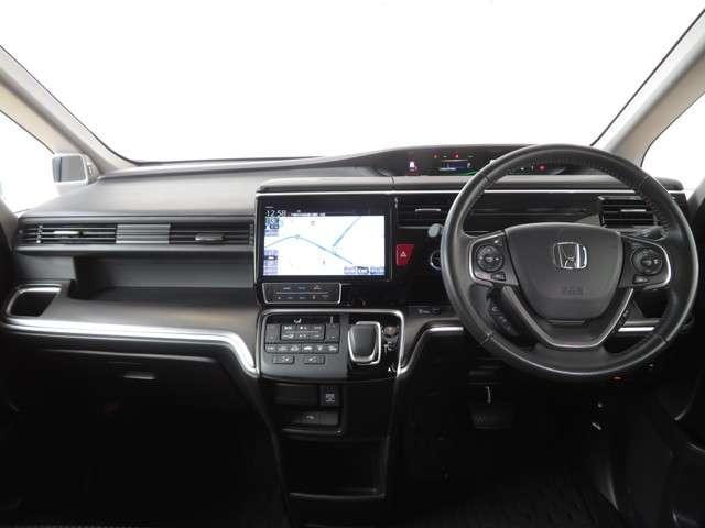 スパーダハイブリッド G・EX ホンダセンシング 大型ナビ 運転支援 両側電動スライドドア ホンダ認定中古車 シートヒーター Bluetooth対応 純正AW(8枚目)