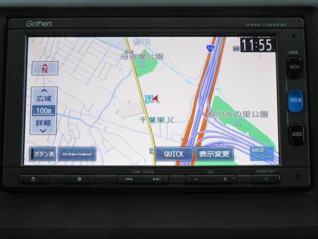 G Bluetooth対応ナビ ドラレコ リアカメラ フルセグTV ETC HID 純正AW(2枚目)