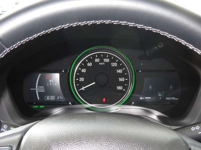 ハイブリッドZ・ホンダセンシング デモカー 大型ナビ 運転支援 前後ドラレコ ホンダ認定中古車 Bluetooth対応 クルーズコントロール ETC シートヒーター 純正AW フルセグTV リアカメラ MTモード(13枚目)