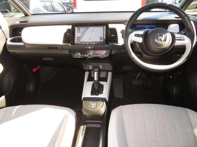 e:HEVホーム デモカー Bluetooth対応ナビ 運転支援 フルセグTV クルーズコントロール LEDヘッドライト 純正AW ドライブレコーダー 障害物センサー リアカメラ(9枚目)