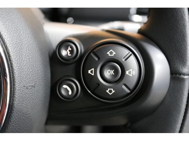 クーパーS クラブマン 後期モデル ACC 衝突軽減ブレーキ パーキングアシスト バックカメラ 前後PDC コンフォートアクセス ドライビングモード LEDライト UKテール SOSコール ETCミラー ドラレコ 新車保証(50枚目)