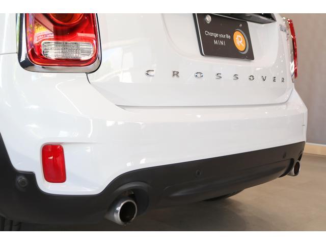 クーパーSD クロスオーバー オール4 4輪駆動 クリーンディーゼル 衝突軽減ブレーキ ACC タッチパネルナビ Bカメラ リアPDC アダプティブLEDヘッドライト オートテールゲート コンフォートアクセス アラームシステム(30枚目)