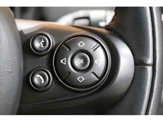 クーパーD クロスオーバー 追従クルコン 衝突軽減ブレーキ スマートキー PDCセンサー バックカメラ 電動開閉トランク ETC内蔵ミラー 純正HDDナビ ミュージックサーバー Bluetooth ディーラー整備記録簿(46枚目)