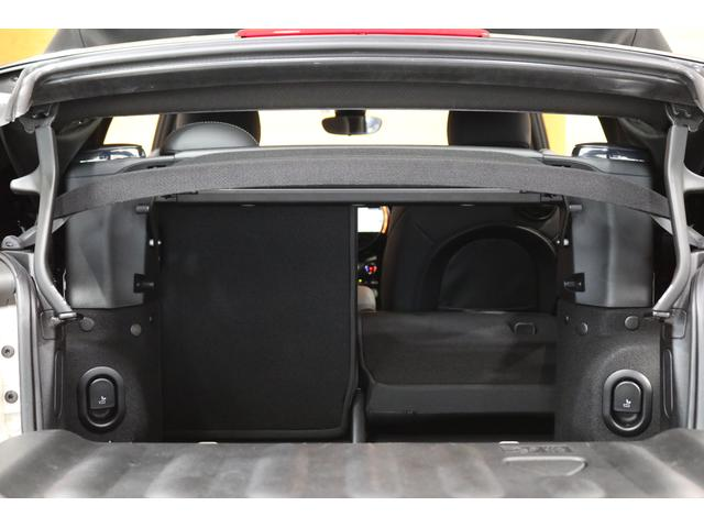 クーパー コンバーチブル 1オーナー レザレットシート シートヒーター 衝突軽減B Pアシスト Bカメラ 前後PDC コンフォートA SOSコール ユニオンジャックテール LEDヘッドライト 16インチAW 新車保証 TLC(33枚目)
