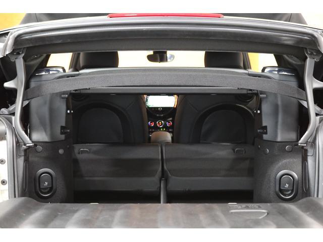 クーパー コンバーチブル 1オーナー レザレットシート シートヒーター 衝突軽減B Pアシスト Bカメラ 前後PDC コンフォートA SOSコール ユニオンジャックテール LEDヘッドライト 16インチAW 新車保証 TLC(34枚目)