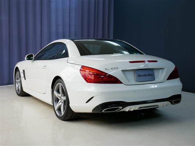 SL400 4年保証 新車保証(9枚目)