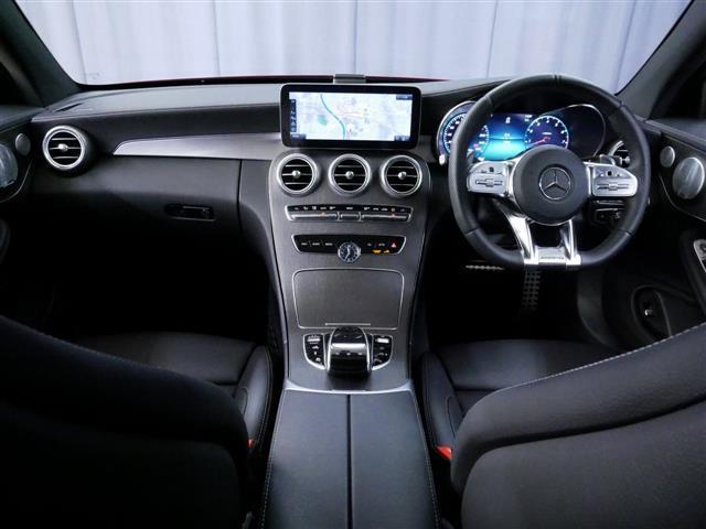C43 4マチック クーペ 4年保証 新車保証(14枚目)