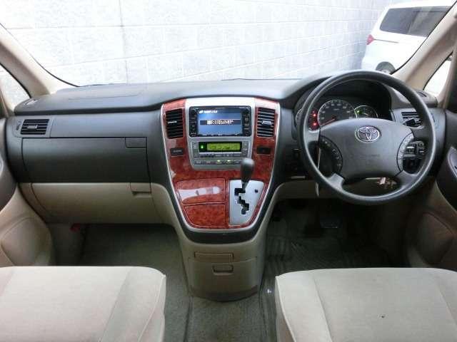トヨタ アルファードV MX Lエディション バックモニター サイドモニター