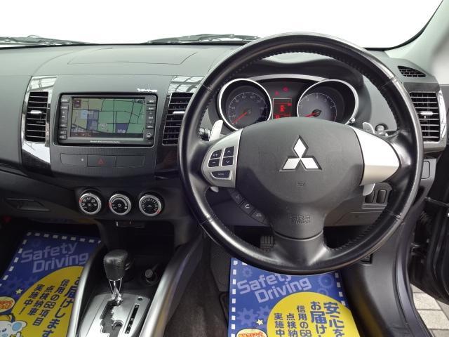 三菱 アウトランダー 24G 7人4WD1オーナー車HDDナビ地デジロックフォード