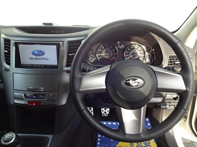 スバル レガシィツーリングワゴン 2.5GT S PKG6速MT 車高調19AWターボ純正ナビ