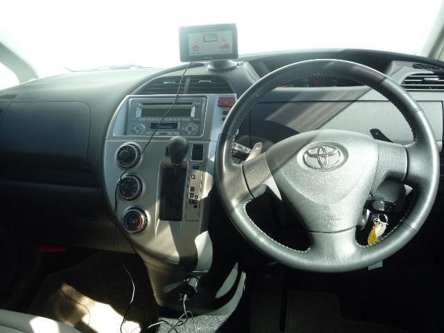 トヨタ ラクティス G カイゴフクシ 車検整備付 CD SDナビ スロープ車
