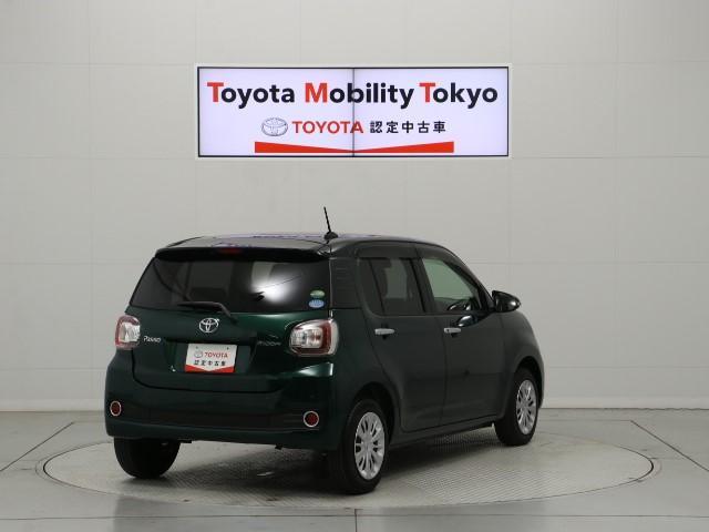 「トヨタ」「パッソ」「コンパクトカー」「東京都」の中古車4