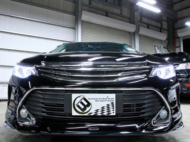 トヨタ カムリ ハイブリッド Gパケナビ Newライト後期フェイスフルエアロ