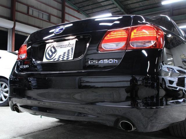 レクサス GS GS450h バージョンL後期黒革マルチ新品スピンドルエアロ