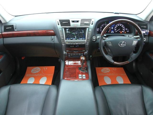 レクサス LS LS600h バージョンS-I 黒革 新品スピンドルエアロ