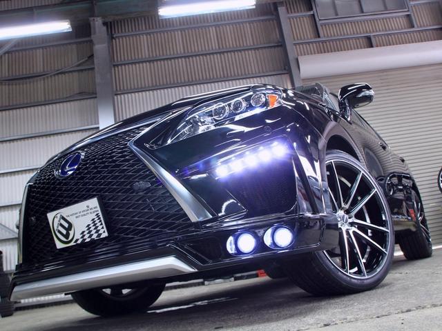 RX450h バージョンL 黒革SR 現行フェイス新品エアロ(5枚目)