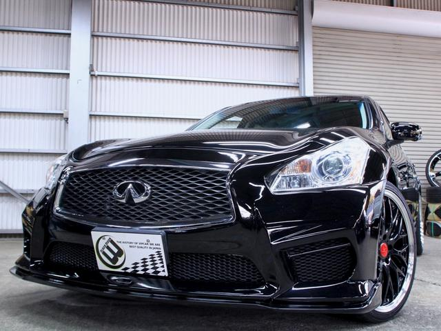 250GT 黒半革 V37フェイス新品フルエアロ 新品アルミ(4枚目)