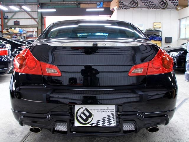 250GT 黒半革 V37フェイス新品フルエアロ 新品アルミ(13枚目)