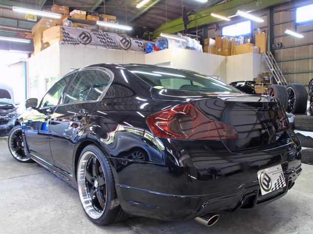 250GT黒半革SR V37フェイス新品フルエアロ新品アルミ(12枚目)