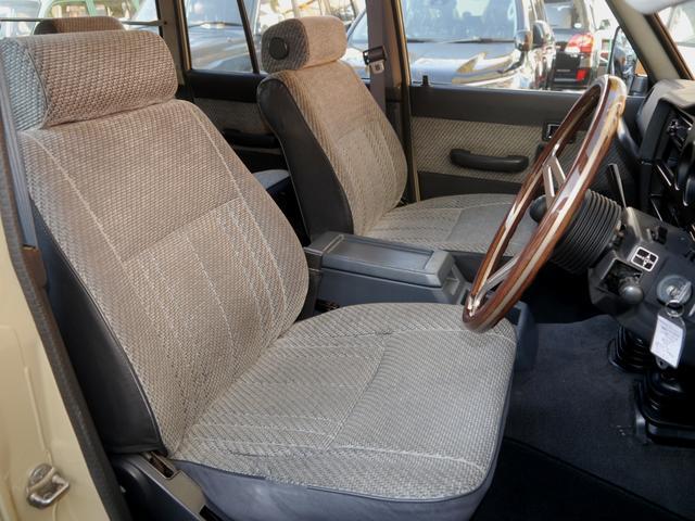 トヨタ ランドクルーザー60 GX ガソリン5速マニュアル車 ランクル60丸目フェイス換装