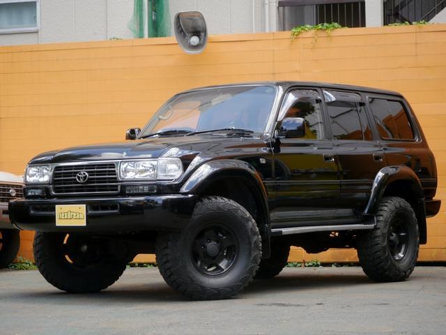 トヨタ ランドクルーザー80 VXリミテッド ブラックコンプリート 3インチアップ