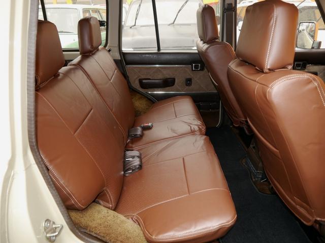 トヨタ ランドクルーザー60 VX 丸目・ロールーフ換装 NEWペイント