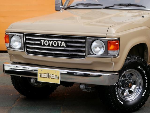 トヨタ ランドクルーザー60 VX 丸目・ロールーフ換装 純正車高