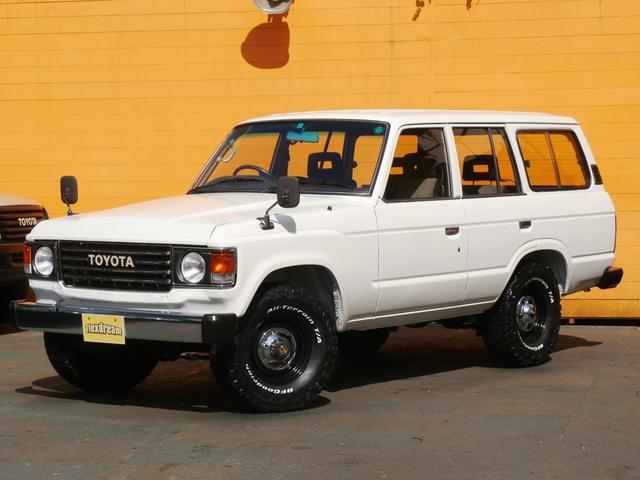 トヨタ ランドクルーザー60 VX 丸目ロールーフ換装 フェンダーミラー ガソリンAT