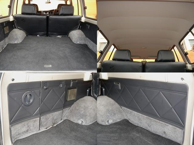 トヨタ ランドクルーザー60 VX クラシックウッドステアリング 新品革調カバー マット