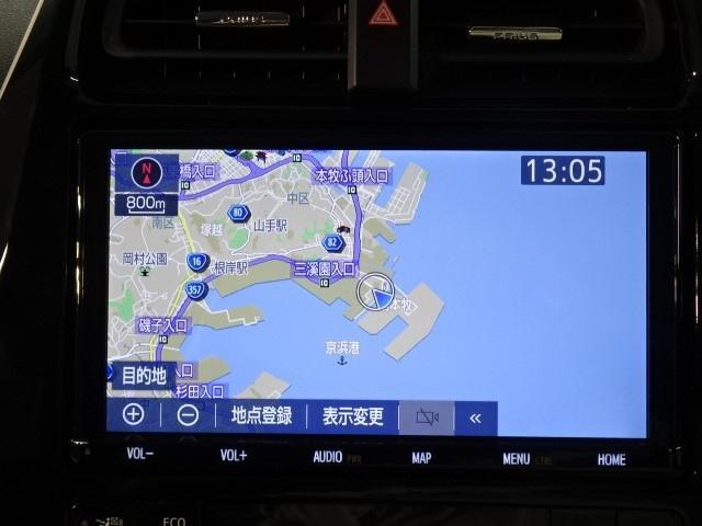 Sセーフティパッケージ 当社社用車歴 5人乗り 9型Bluetooth対応フルセグメモリーナビ ディスク再生 全周囲カメラ ETC2.0 別体型ドラレコ LEDフォグ AC100Vアクセサリーコンセント 衝突回避支援 BSM(7枚目)