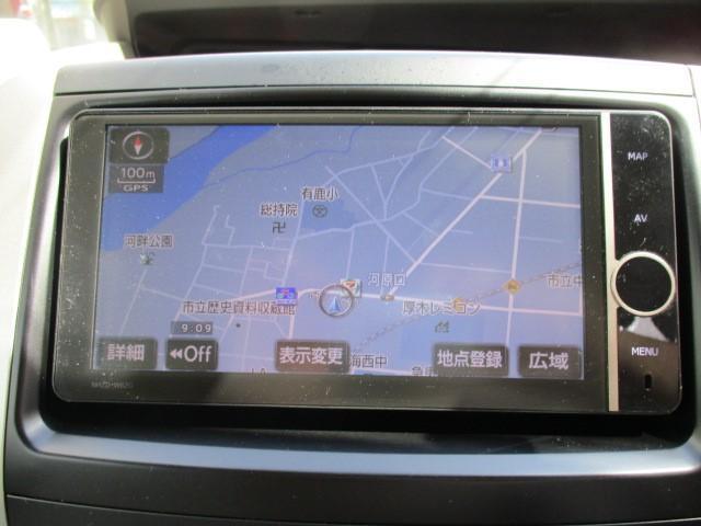 X ワンオーナー HDDナビ HIDヘッドライト 8人乗り 走行距離56000km(9枚目)