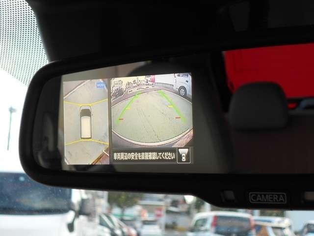 駐車時のお助け!360度上から周囲が見えるアラウンドビューモニター!車庫入れの強い見方となってくれます♪