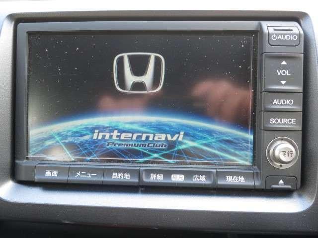 ホンダ純正HDDナビ装備しております。CD、DVD再生、ワンセグ、ラジオを視聴できます。Bluetoothもお電話の場合接続可能です。(端末によって異なります。)