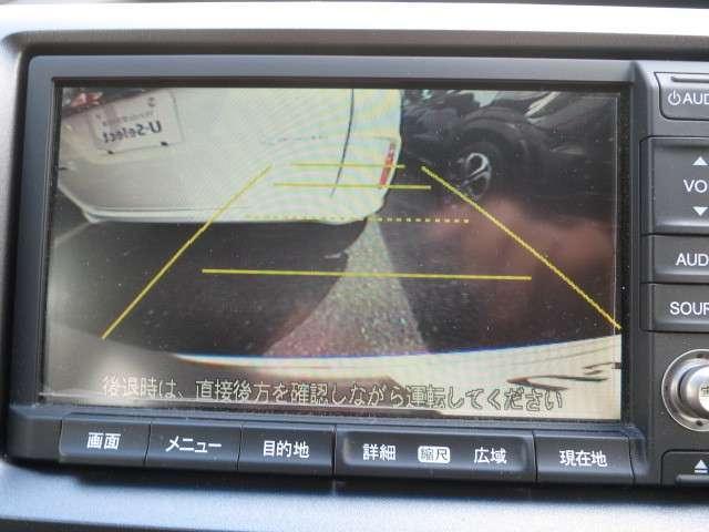 バックカメラ装備のお写真です。