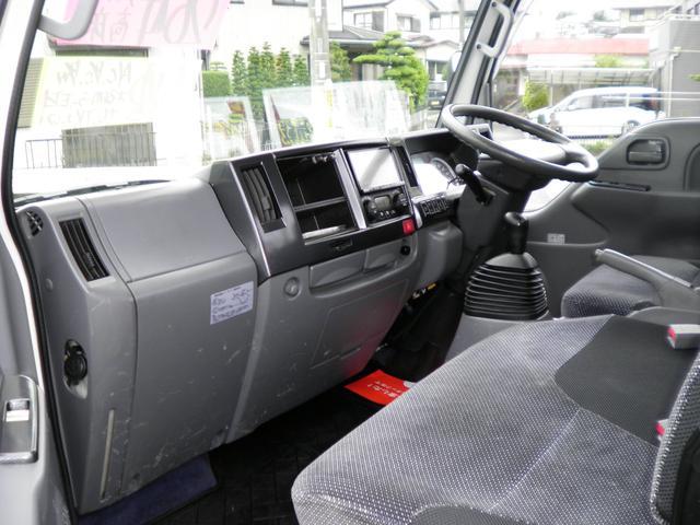 カスタム 高床 2トン積載 6速マニュアル車 ナビTV 両側格納ミラー HIDライト ETC キーレス 10尺木製荷台4ナンバー(7枚目)
