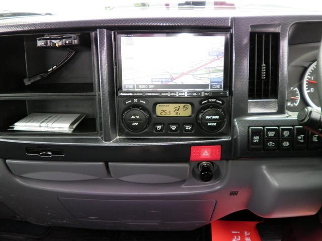 カスタム 高床 2トン積載 6速マニュアル車 ナビTV 両側格納ミラー HIDライト ETC キーレス 10尺木製荷台4ナンバー(20枚目)