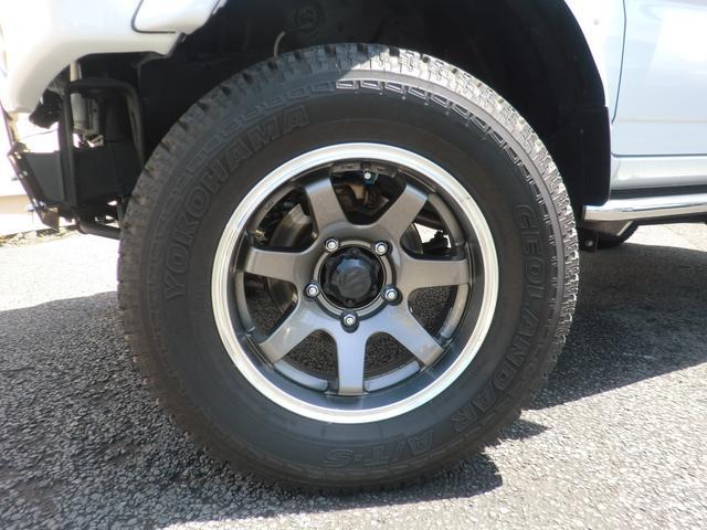 クロスアドベンチャー 2インチリフトアップ SR7-16インチAW サンルーフ オーバーフェンダー 構造変更済(小型乗用) シートヒーター サイドステップ 4WD(18枚目)
