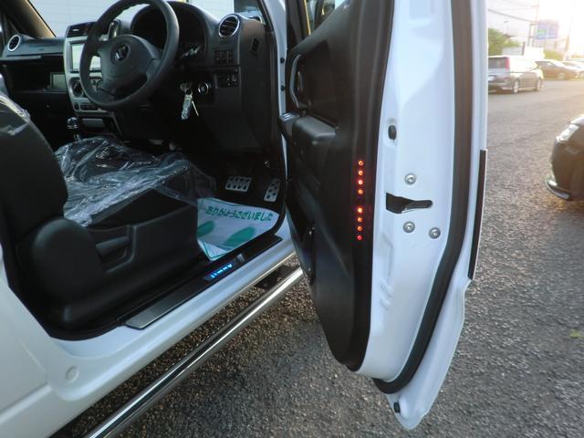 クロスアドベンチャー 2インチリフトアップ SR7-16インチAW サンルーフ オーバーフェンダー 構造変更済(小型乗用) シートヒーター サイドステップ 4WD(54枚目)