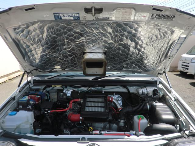 クロスアドベンチャー 2インチリフトアップ SR7-16インチAW サンルーフ オーバーフェンダー 構造変更済(小型乗用) シートヒーター サイドステップ 4WD(66枚目)
