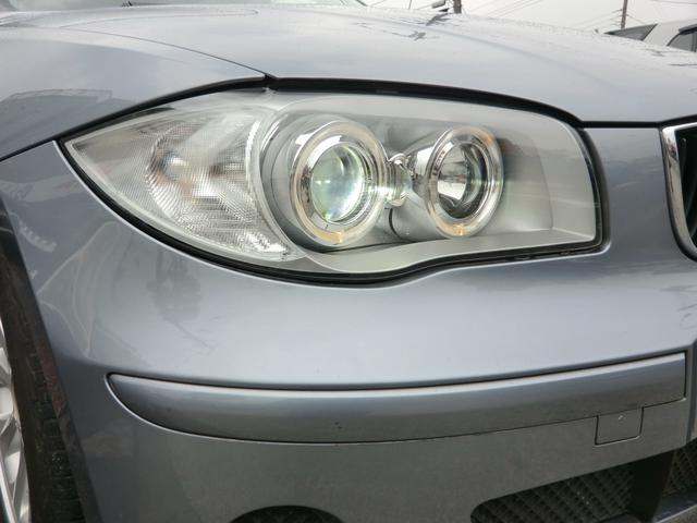 BMW BMW 116i 特注レザーシート張替 純正HID