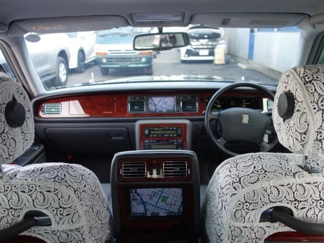 トヨタ センチュリー フロアシフト ドアミラー リア3面カーテン 本革エアシート