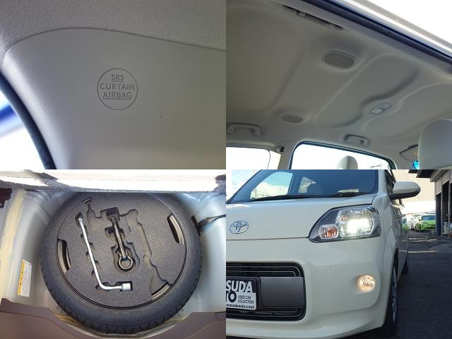 Fウェルキャブ車サイドアクセス車Aタイプ車いす収納装置脱着シート仕様手動式 純正SDナビバックカメラ ドライブレコーダー ナノイー ディスチャージヘッドライト TSS 衝突軽減 自動ドア(15枚目)