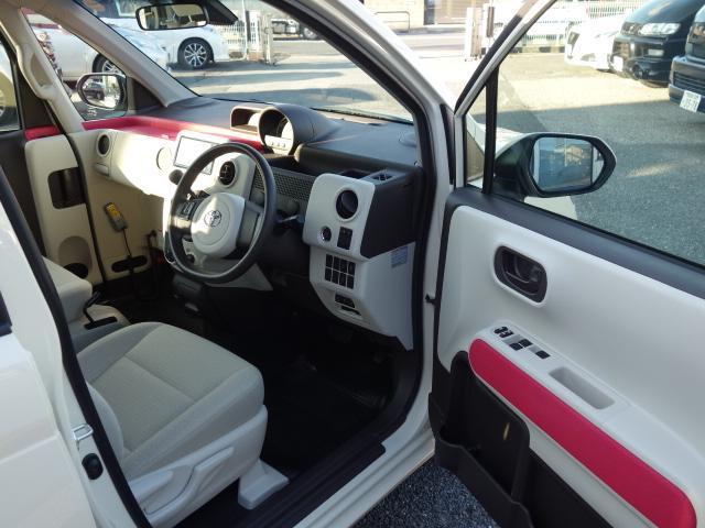 Fウェルキャブ車サイドアクセス車Aタイプ車いす収納装置脱着シート仕様手動式 純正SDナビバックカメラ ドライブレコーダー ナノイー ディスチャージヘッドライト TSS 衝突軽減 自動ドア(21枚目)
