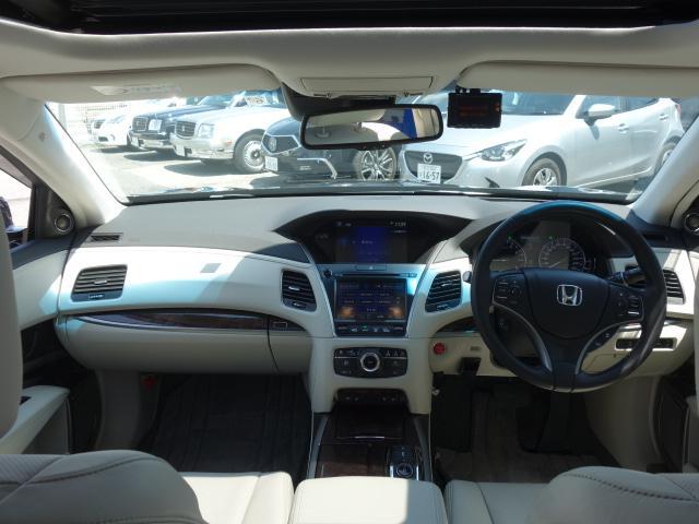 ベースグレード 1オーナー車 KRELLオーディオ アラウンドビューモニター サンルーフ ホンダセンシング 置くだけ充電 白革エアシート リア3面サンシェード ドライブレコーダー 19AW 純正トランクマット(8枚目)