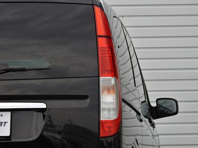 V350アンビエンテ 中期型 黒革 HDDナビ 後席モニター(5枚目)