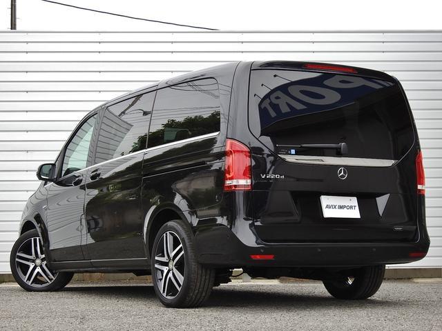 V220d AVGロング 黒革  RSP 1オナ 新車保証(3枚目)