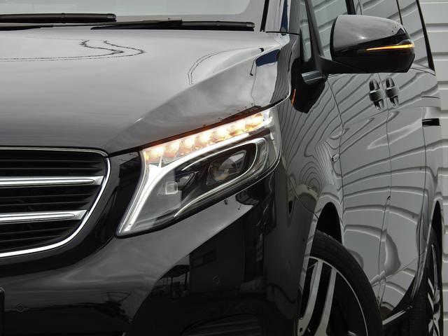 V220d AVGロング 黒革  RSP 1オナ 新車保証(4枚目)