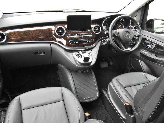V220d AVGロング 黒革  RSP 1オナ 新車保証(7枚目)