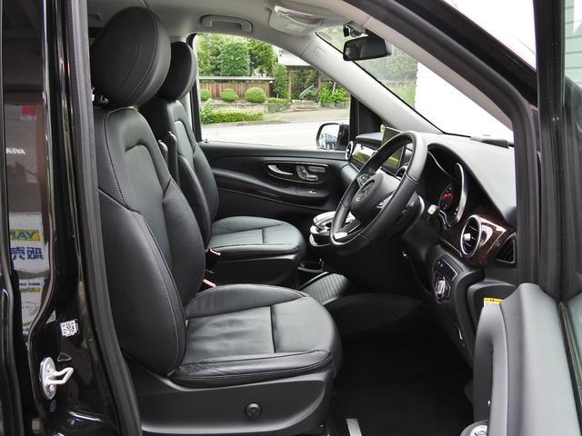 V220d AVGロング 黒革  RSP 1オナ 新車保証(14枚目)