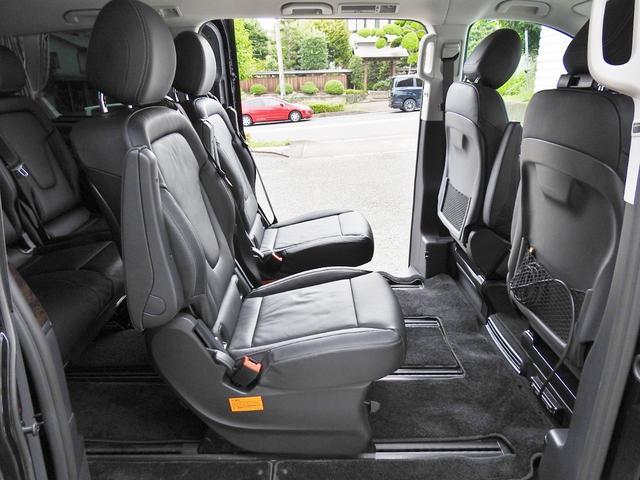 V220d AVGロング 黒革  RSP 1オナ 新車保証(16枚目)
